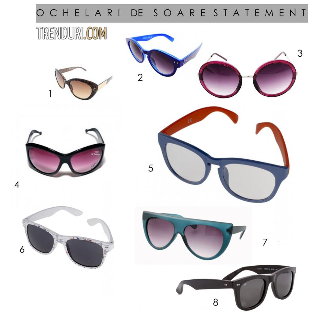 ochelari de soare - moda de primavara vara 2013