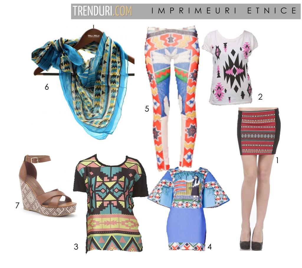 tinute etno - moda de primavara vara 2013