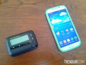 Pager Motorola si Samsung Galaxy S4