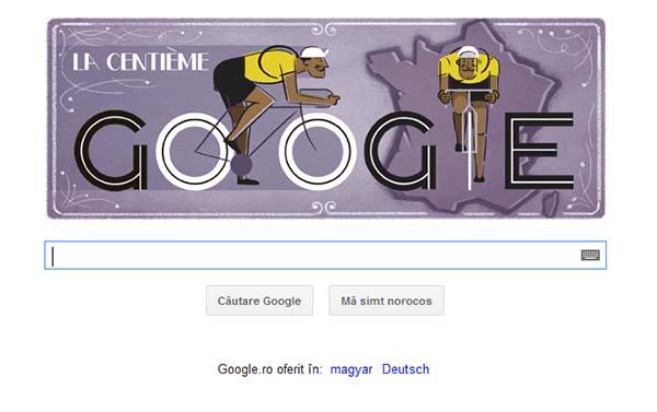 Turul Frantei - Google