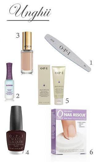 Cosmetice profesionale pentru unghii