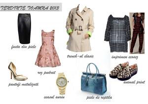 Trendurile (tendintele) toamnei 2013