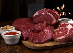 Ce este lichidul rosu din carnea proaspata