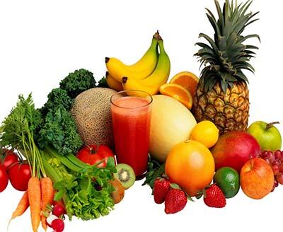 Ingrijirea corpului cu fructe si legume