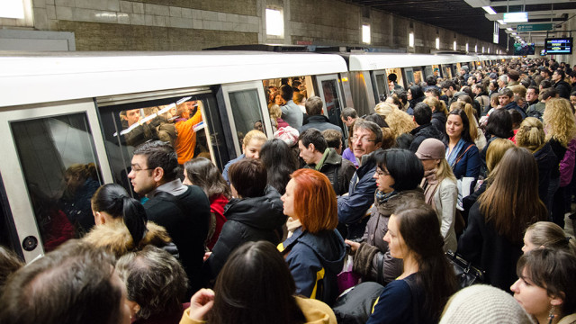 Aglomeratie metrou Bucuresti
